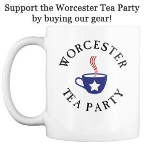 support the worcester tea party by buying our gear